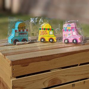 Target Dollar Sport Wooden Food Trucks
